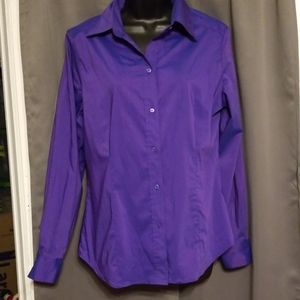 NWT New York & Co button up shirt size L